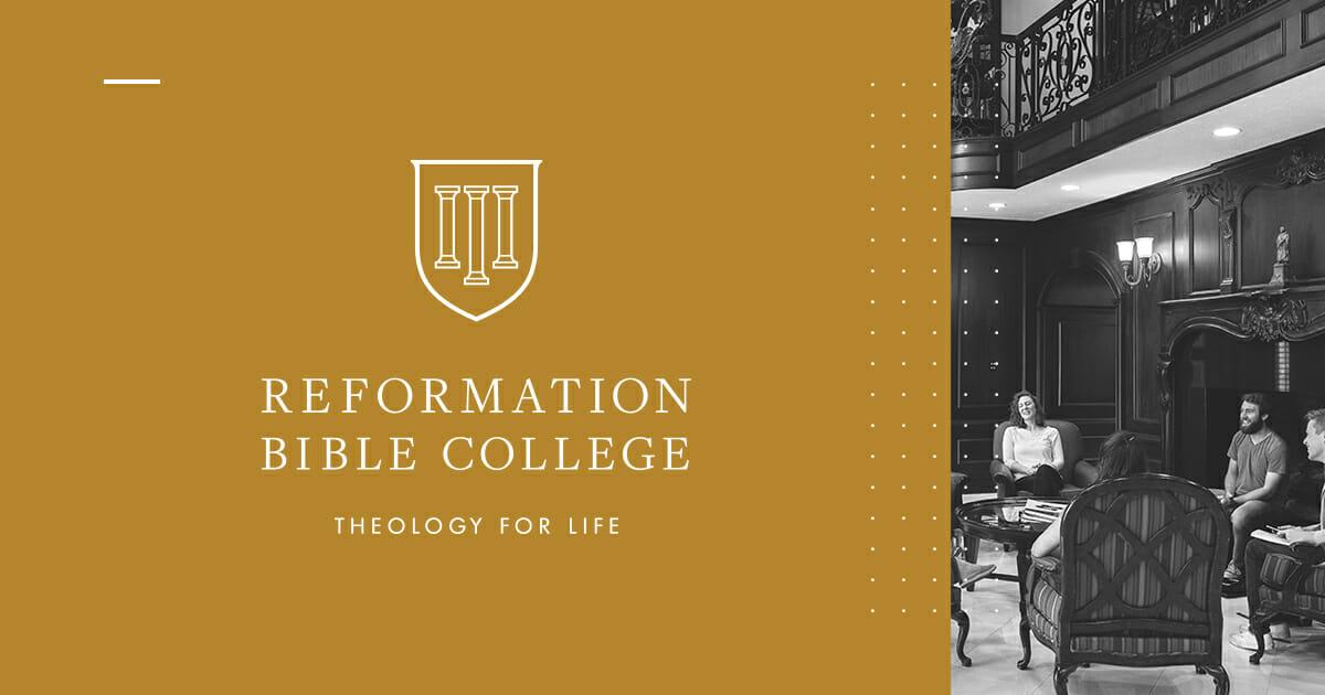 Academics :: Reformation Bible College